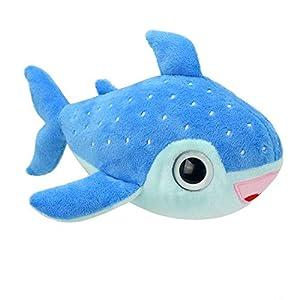 Wild Planet Orbys-Juguete de Peluche Tiburon Balena 15cm Hecho a Mano, K8480
