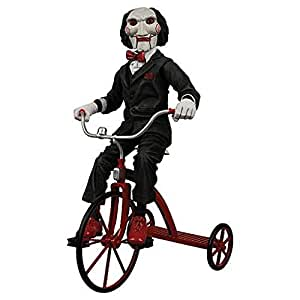 SAW poupée Billy avec Tricycle