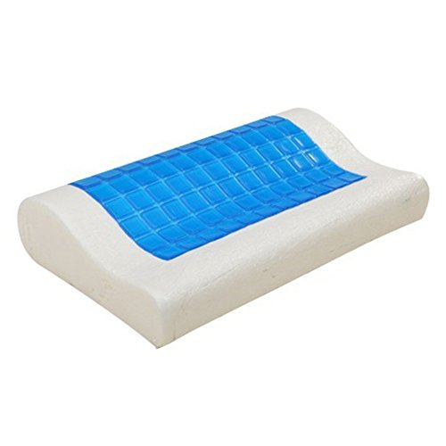 Orthopädische Unterstützung Kissen (Cutogain Memory-Schaum-Kissen mit Kühlgel, wendbar, orthopädische Unterstützung, Schlaf-Nackenkissen für Zuhause und Büro)