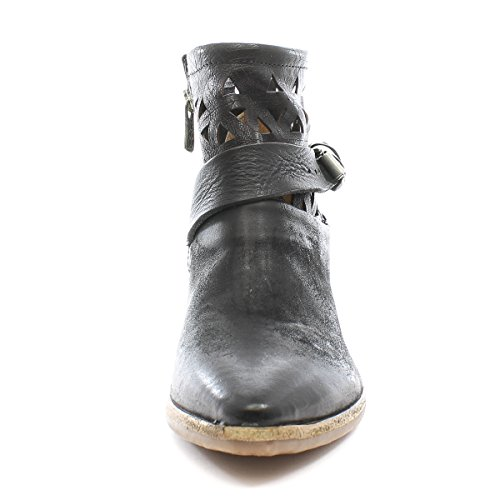 A.S.98 Boots à Talons Satur 860208-101 Nero Airstep as98 Nero