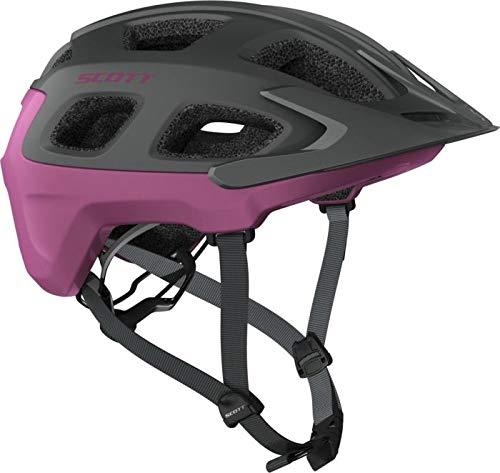 Scott Vivo MTB Fahrrad Helm grau/lila 2017: Größe: L (59-61cm)