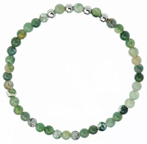 Semi-précieuses Perles Bracelet en Jade de 6 cm