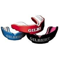 Gilbert Atomic Double Densité Rugby Protège-dent Jaw Stabilité Protection Vêtements Guard