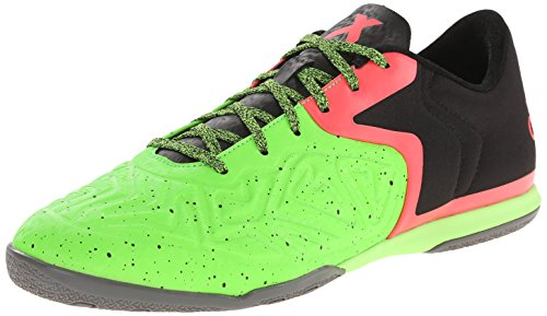 Adidas Performance X 15.2 Ct Chaussures de football, Core Noir / flash Rouge S15 / Vert solaire, 6,5 Core Black/Flash Red S15/Solar Green