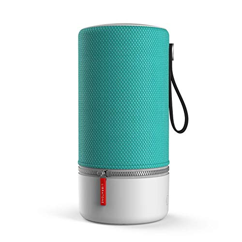 Libratone ZIPP 2 Smart Wireless großer Lautsprecher (Alexa Integration, AirPlay 2, MultiRoom, 360° Sound, Wlan, Bluetooth, Spotify Connect, 12 Std. Akku) pine green