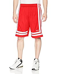 Under Armour UA Baseline 10in Short 18 Pantalones Cortos, Hombre, (Red), XXL