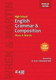 Wren & Martin High School English Grammar and Composition Book (Regular Edit
