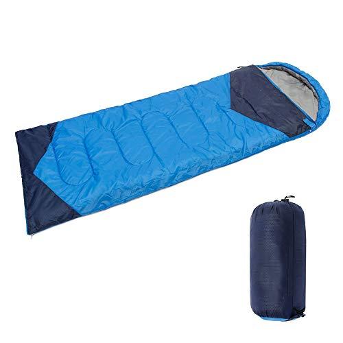 WODEPP Schlafsack Winter, Mit Kompressionsbeutel, Kinder, Jugendliche, Erwachsene 4 Jahreszeiten Camping, Wandern, Outdoor, Geeignet -5°C ~ 10°C