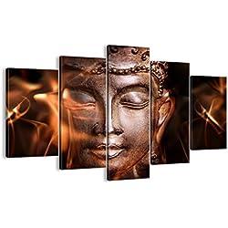 Cuadro sobre lienzo - 5 piezas - Impresión en lienzo - Ancho: 150cm, Altura: 100cm - Foto número 2620 - listo para colgar - en un marco - EA150x100-2620
