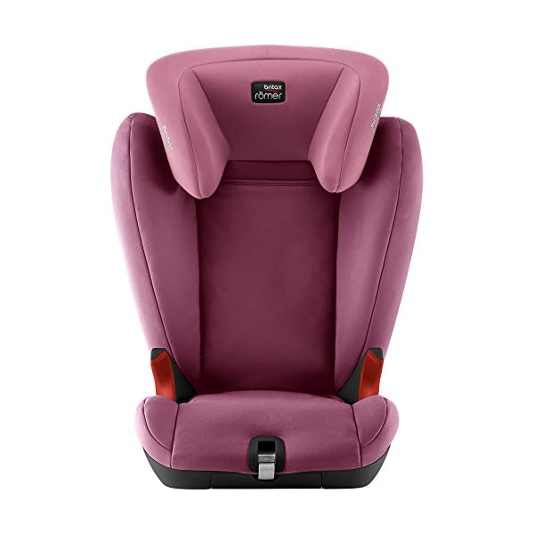 Britax Römer KIDFIX SL BLACK SERIES Group 2-3 (15-36kg) Car Seat - Wine Rose Britax Römer Simple installation - soft-latch isofit system Misuse limiting design - intuitively positioned seat belt guides Lightweight - easy to transfer between cars 2