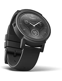 Ticwatch E Shadow Smartwatch Intelligente Armbanduhr mit 1,4 Zoll OLED-Display, Android Wear 2.0, Sportuhr Hochwertig Fitnessuhr Kompatibel mit Android und ios Geeignet für Die Meisten Typen von Smartphone z.B Samsung, iPhone, Huawei