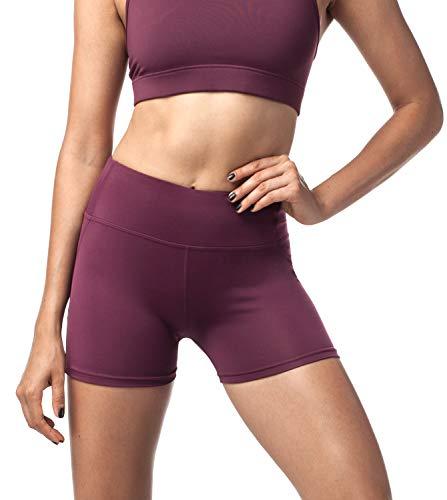 LAPASA Pantalón Corto Deportivo Mujer Running, Fitness