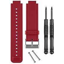 Garmin - Correa para smartwatch VivoActive, color roja
