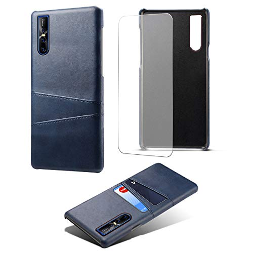 FindaGift Vivo V15 PRO Custodia Libro,Utrl Slim Luxury Pelle Leather Magnetic Protective Cover Custodia Portafoglio for Vivo V15 PRO Blue