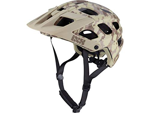 IXS Trail RS Evo Camo Ltd. Edition Helmet Camel Camo Kopfumfang M/L 2019 Fahrradhelm