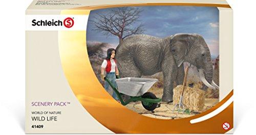 Schleich - Set de Cuidado de Elefantes (41409)