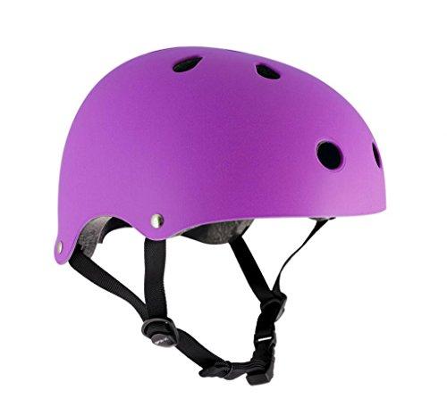 sfr-essentials-skateboard-scooter-bmx-helm-53-56cm-violet-fluo-mat-53-56cm-matt-fluoreszierend-viole