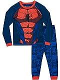 Spiderman - Ensemble De Pyjamas - l'homme Araignée - Garçon - Bleu - 5-6 Ans
