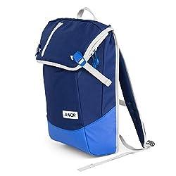 AEVOR Daypack - erweiterbarer Rucksack, ergonomisch, Laptopfach, wasserabweisend, Blue Bird Sky