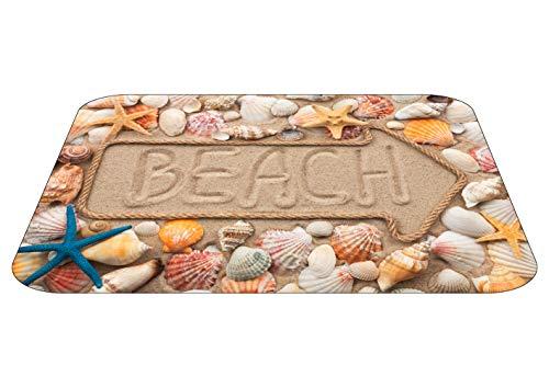 Papillon - Alfombra de baño Bus en la Playa Super Absorbente, poliéster, 60x 40cm