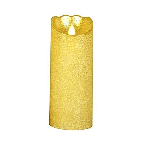 LED Vela de cera 20x 8cm Oro