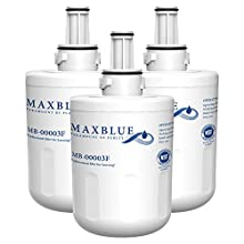 3X Samsung DA29-00003F Fridge Water Filter Replacement by Maxblue, Compatible with Samsung Aqua Pure Plus DA29-00003F, HAFIN1, DA29-00003A, DA29-00003B, DA29-00003A-B, DA61-00159A, DA97-06317A (3)