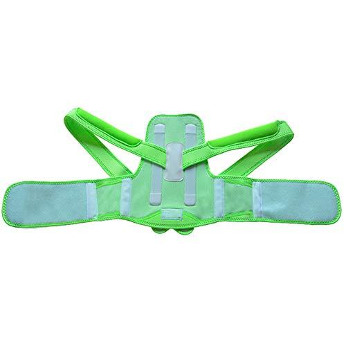 Rücken-Support-Kerne es Sommeranpassungs-Korrektur an der Adjust Breathable Comfort-Pink, Blau, Grün,Green,S