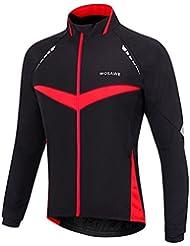 West Cyclisme hommes et femmes en polaire thermique Veste de cyclisme coupe-vent Unisexe Jersey à manches longues coupe-vent Manteau d'hiver pour femme