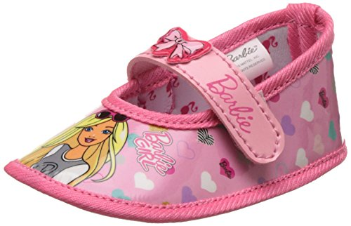 Barbie Baby Girl's Pink Booties - (9-12 months)