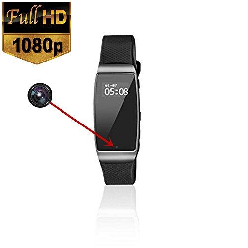 2017 newest design smart wristband camera with smart bracelet HD Hidden Spy watch camera with time appearance bracelet camera