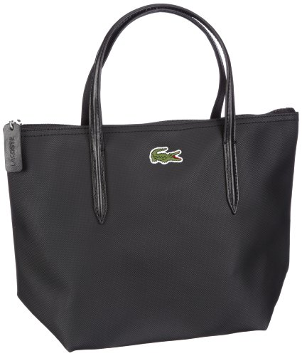 shopper Schwarz WITHOUT nero COLOR Borsa donna 000 Lacoste Women Handbag wCHqUP6
