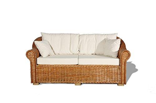 Weidenmöbel,Couch 3-Sitzer Loungemöbel, Gartenmöbel Model classico ...