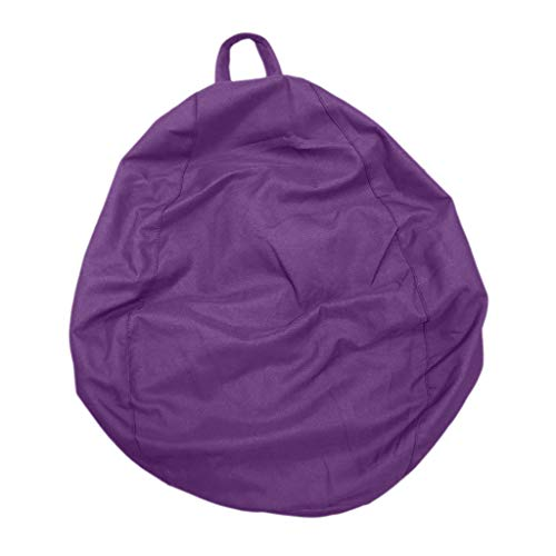 Baoblaze Sitzsack Bezug Bean Bag Sessel Sitzkissen Bezüge Abdeckung für Kinder - Lila