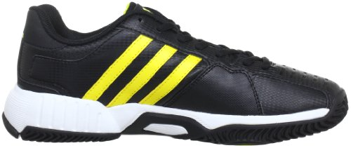 adidas Bercuda 2.0 G64804 Herren Tennisschuhe Schwarz (Black 1 / Vivid Yellow S13 / Running White Ftw)