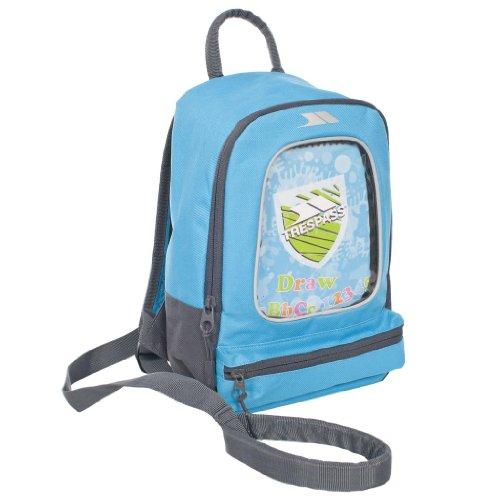Sac à dos pour jeune enfant avec harnais de sécurité et rênes - crayons de couleur et cahier à dessin inclus