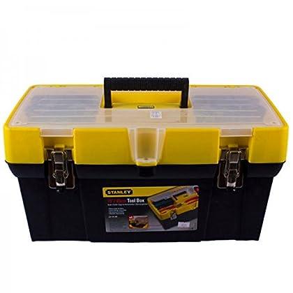 Stanley 1-93-285 Caja de Herramientas Modular Organizador, Multicolor