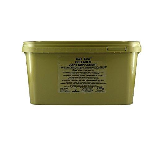 Gold Label Kollagen-Nahrungsergänzung für Pferdegelenke (2,7 kg) (Kann variieren)