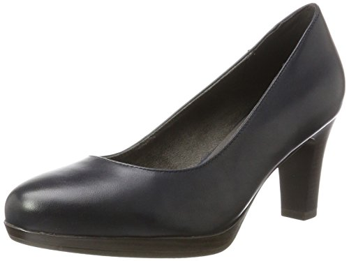 Tamaris Damen 22410 Pumps, Blau (Navy), 40 EU
