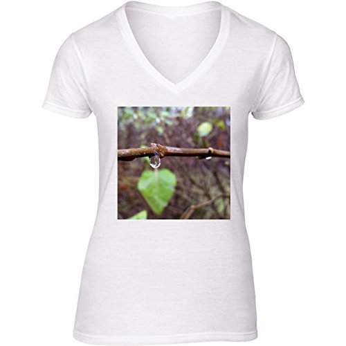t-shirt-bianco-scollo-a-v-donne-taglia-l-goccia-di-pioggia-by-feiermar