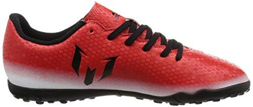 adidas Messi 16.4 Tf J, Scarpe da Calcio Unisex – Bambini Multicolore (Red/Cblack/Ftwwht)