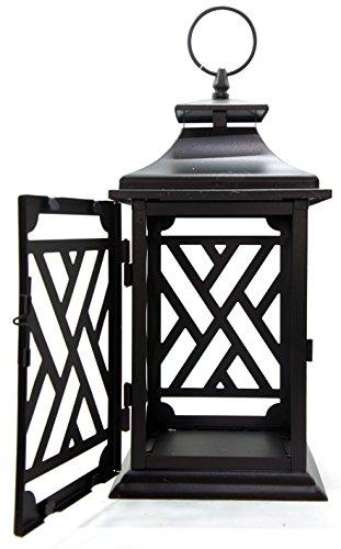 Offizieller Yankee Candle Großen Cigar Lounge Schwarz Metall Vintage Retro Laterne Kerzenhalter Dekoration Zubehör Kerze Nicht im Lieferumfang Enthalten