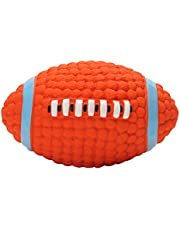 Petlicious & More Eetoys Dog Latex Squeaky Rugby Ball Toy (Medium)
