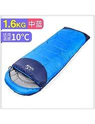 SOLVHK Saco de Dormir Bolsa de Dormir de Alpinismo Exterior sobre Cuatro Estaciones Bolsa de Dormir
