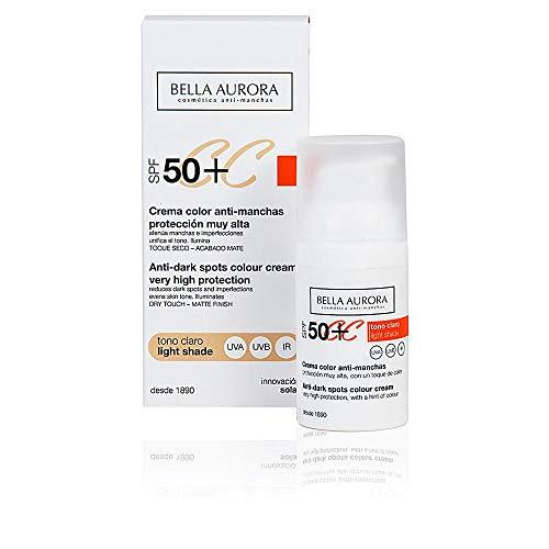 Bella Aurora Crema Facial Color Protección Solar