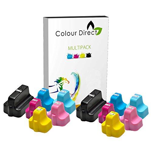 12 Colour Direct HP 363 XL Cartuchos de Tinta Para HP Photosmart 3108 3110 3210 3310 3310xi 8200 8230 8238 8250 8250v 8250xi 8253 C5140 C5150 C5170 C5175 C5180 C5183 C5188 C5190 C6150 C6170 C6175 C6180 C6183 C6185 C6188 C6190 C6200 C6240 C6250 C6270 C6280 C6283 C6288 C7180 C7183 C7185 C7200 C7250 C7275 C7280 C7283 C7288 C8180 C8183 D6160 D6163 D6168 D7155 D7160 D7163 D7168 D7260 D7263 D7345 D7355 D7360 D7368 D7460 D7463 P3210
