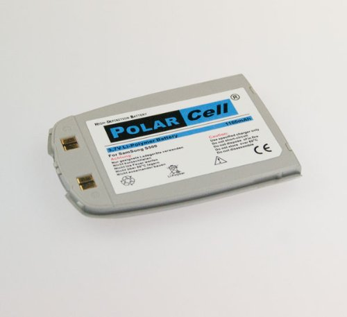 NFE² Edition Polarcell Lithium-Polymer Akku - 1100mAh - für Samsung SGH-S500 silber