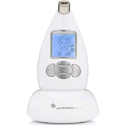 t Mikrodermabrasion System - Erweitert Home Gesichtsbehandlung Maschine, Klinische Dermabrasion Anti-Aging-Pflege, vollkommener Mitesser Entferner & Peeling Hautpflege Soluti Weiß ()