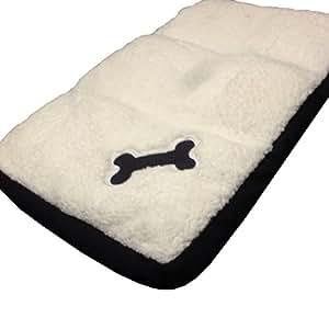 Ardisle Memory Foam Pet Bed Dog Cat Kitten Puppy Cushion Large Basket Fleece Luxury Mat