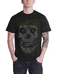 Misfits The T Shirt Classic Logo Distressed Print Nue Offiziell Herren