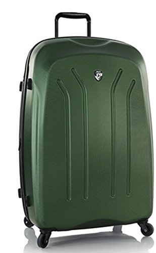 PREMIUM DESIGNER Hardside Luggage - Heys Crown Lightweight Pro Green Hand Luggage 470575031&Crown&199